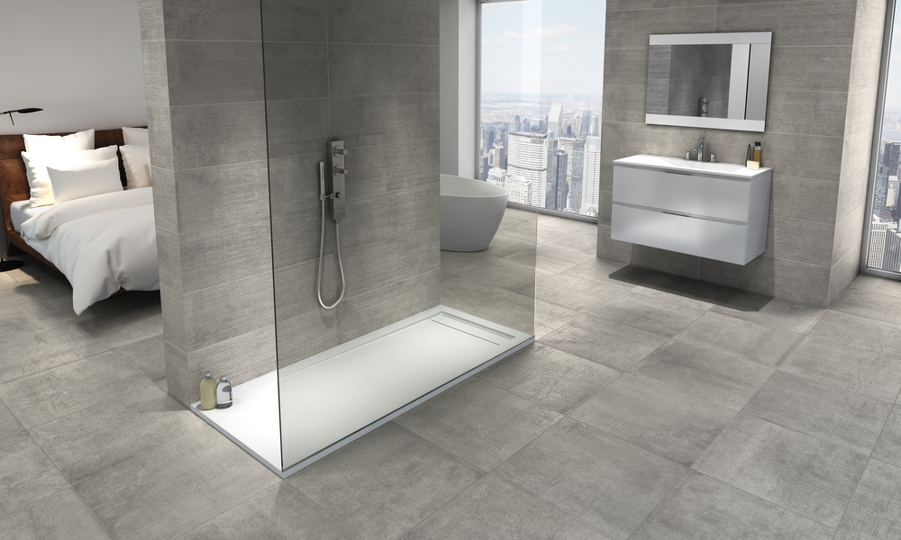 Plato De Ducha Gel Coat.Platos De Ducha Neosolid By Bath The Solid Surface By Azulev