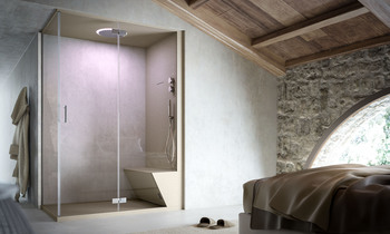 Showering by Glass 1989 | Tilelook