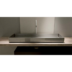 reused wood with washbasin ILA100 Moab 80 Industrial Line