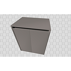 Idea 2.0 Washing Machine Cabinet 70cm  Polished Anthracite Kale Banyo Idea 2.0