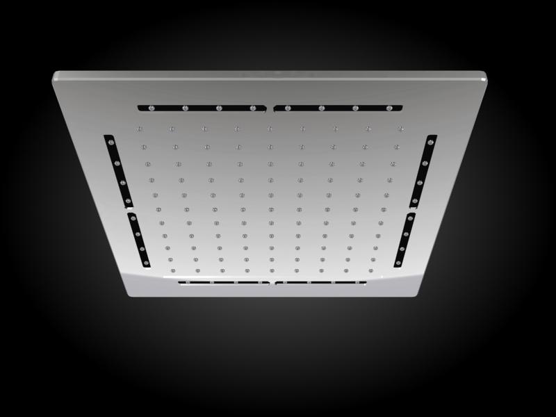 Z12 ฝักบัวพร้อม LED 12 นิ้วแบบฝังเพดาน - Collection Cotto by Cotto | Tilelook