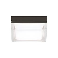 boxie small outdoor wall flush mount Rolando Luci boxie flush mount