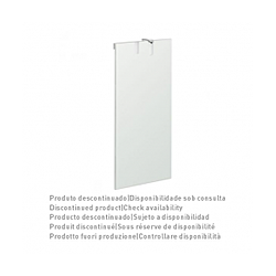 55x105 Linha Plus mirror with LED light Sanindusa Linha Plus