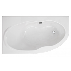 160x90 Duna right side bathtub Sanindusa Duna