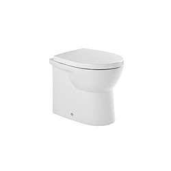 Easy W D back-to-wall low level toilet Sanindusa Easy