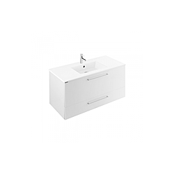 100 wall mounted furniture with 2 drawers - Área kollekció / Sanindusa | Tilelook