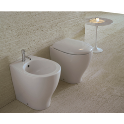 Floor mounted bidet Globo Bowl+