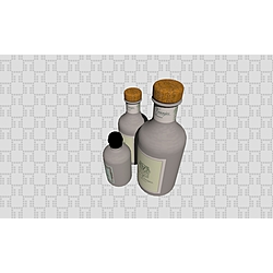 Shampoo Bottles - Collection Generic Accessories by Tilelook | Tilelook