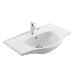 Washbasin Kale Banyo Single Piece