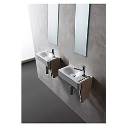 Washbasin 40X22 - Collezione Hung di Scarabeo   Tilelook