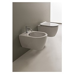 Moon wall hung bidet Scarabeo Moon