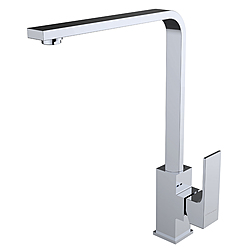 60128 - FREGADERO SAONA SLIM Single lever kitchen tap with cast spout Saona Slim Clever Griferia SAONA SLIM