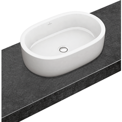Surface-mounted Washbasin Oval Villeroy & Boch Architectura