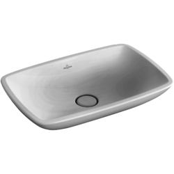 Surface-mounted washbasin (rectangular) Angular Villeroy & Boch Loop & Friends