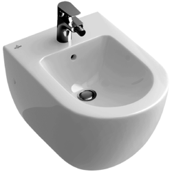 Wall-mounted bidet (over-the-rim style) Villeroy & Boch Subway