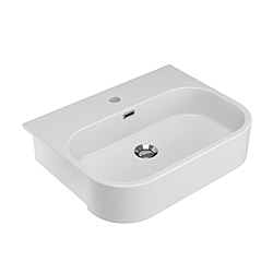 SYNTHESIS LAVABO SEMINCASSO 56 MF BIANCO Olympia Synthesis