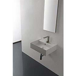 50 washbasin - 50,5x38,5 - Kolekcja  Teorema 2.0  Scarabeo   Tilelook