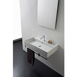 80R washbasin - 80x46 - Kolekcja  Teorema 2.0  Scarabeo   Tilelook