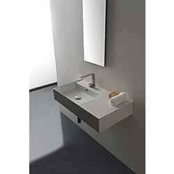 80 shelf DX washbasin - 80x44 - Kolekcja  Teorema 2.0  Scarabeo   Tilelook