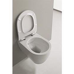 clean flush hung WC (5520/CL) - 50,5x36 - Kolekcja  Moon  Scarabeo   Tilelook