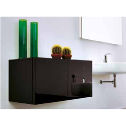 Reversible wall hung cabinet 45 Flaminia Simple