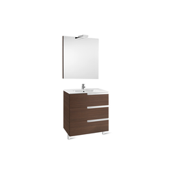Pack Family (base unit, basin, mirror and spotlight) Roca Victoria-N