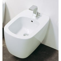 Wall hung single-hole bidet Flaminia Monò