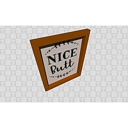 Picture - Nice butt - Kolekcja  Generic Accessories  Tilelook | Tilelook