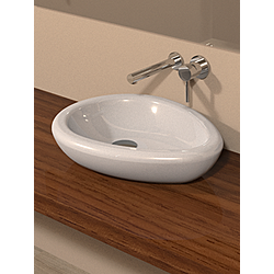 Standing washbasin 50x38x12 - Kolekcja  Egg  Valadares | Tilelook