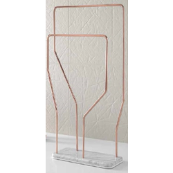 Metallic tubular Towel rack Inbani Bowl