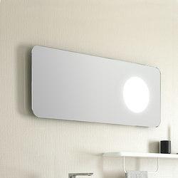 Mirror with 1 LED lighting circle. Inbani Fluent