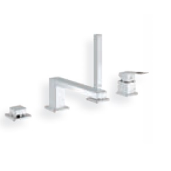 Bath combination Grohe Eurocube