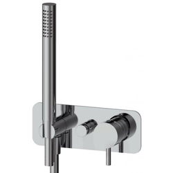 Two ways built-in shower with hand shower IB Rubinetti Kusasi Short