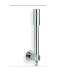 Shower wall holder set with hand shower Sena Stick non-adjustable wall holder Grohe Allure