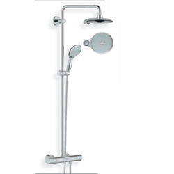 Shower system 190 with thermostat hand shower Power&Soul® 115 Grohe PowerSoul