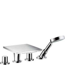 4-hole tile mounted bath mixer Hansgrohe Axor Massaud