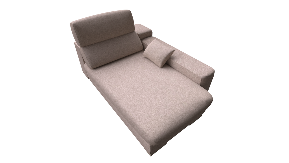 Outstanding Chaise F2 Collection Lotus By Fama Sofas Tilelook Gmtry Best Dining Table And Chair Ideas Images Gmtryco