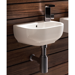 Bench - wall hung small basin 35x23 cm Flaminia Pass