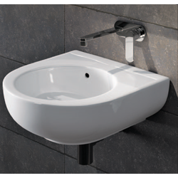 Bench - wall hung small basin 35x39 cm Flaminia Pass