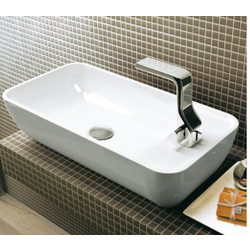 Bench basin 60 cm with lateral tap ledge Flaminia Pass