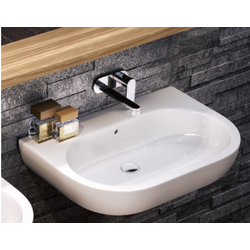 Bench - wall hung basin 62 cm Flaminia Pass
