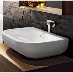 Bench - wall hung basin 72 cm Flaminia Pass