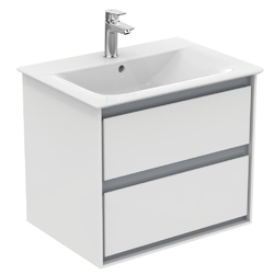Vanity unit 60 cm 2 drawers E0818 Ideal Standard Connect Air