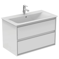 Vanity unit 80 cm 2 drawers E0819 - Collection Connect Air by Ideal Standard | Tilelook