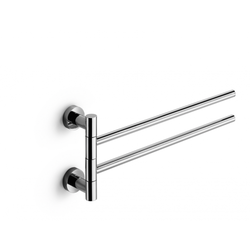 Double jointed towel rail - chromed brass Lineabeta Baketo