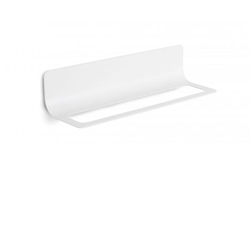 Towel holder / accessories bar 460 mm - dust painted aluminium Lineabeta Curvà