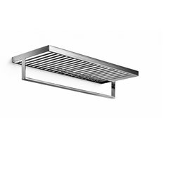 Shelf with towel rail 600 mm - chromed brass Lineabeta Skuara