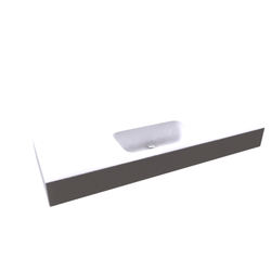 Top Stonelight ST15CM/L145 incluso 2 staffe Disegno Bagno Absolute