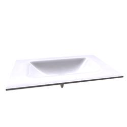 Top Cristallo CRI/L80 Disegno Bagno Absolute