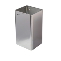 Open stainless steel waste receptacle Mediclinics Waste Receptacle